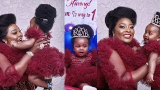 WATCH Yoruba Actress Ronke Odusanya Glamorously Celebrate Her Babygirl 6 Months Birthday