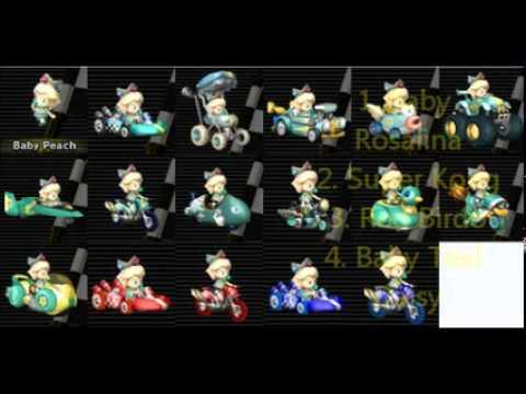 Mario Kart Wii Texture Hacks Part 2 Youtube