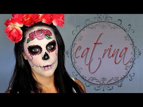 Maquillaje Halloween Catrina elegante | Silvia Quiros