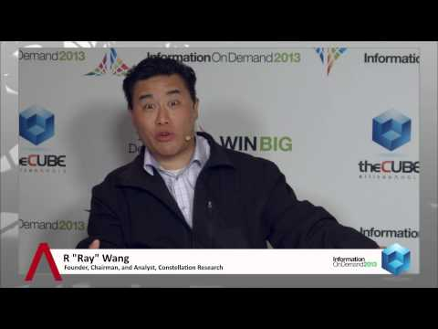 Ray Wang - IBM Information on Demand 2013 - theCUBE