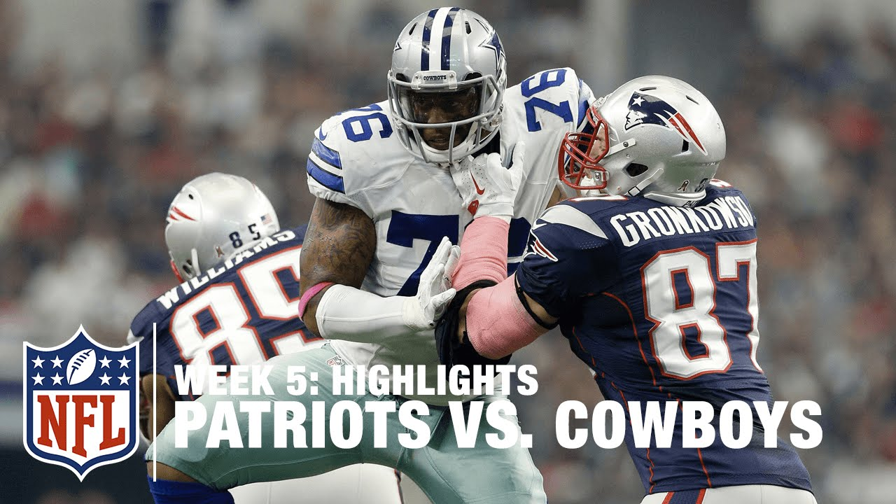Patriots vs. Cowboys   Week 5 Highlights   NFL