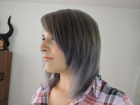 Como decolorar el cabello a Gris