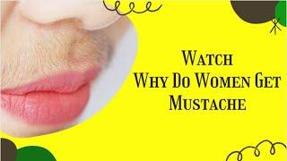 Why Do Women Get Mustache | Pcos Chin Hair | Pcos Facial Hair Treatment | Facial Hair Growth