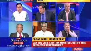 Modi (a common man) shuts up BJP Sambit Patra on News channel - a MUST WATCH