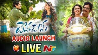 Devadas Audio Launch Event LIVE | Akkineni Nagarjuna | Nani | Rashmika | #DevadasMovie | NTV