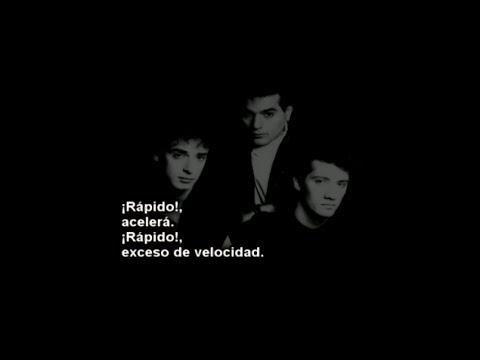 Soda Stereo - SODA STEREO - Ni un segundo [Letra]