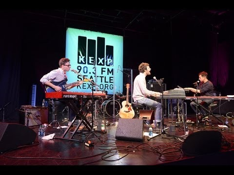 Passion Pit - Full Performance (Live on KEXP)