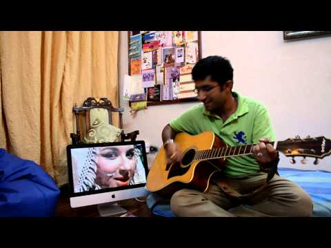 Taarif Karu kya uski;old songguitar(movie-kashmir ki kali)(actors...