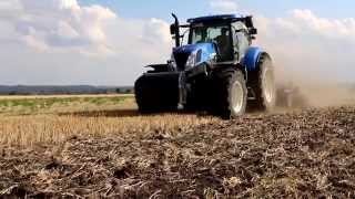 New Holland T7.250 & Lemken
