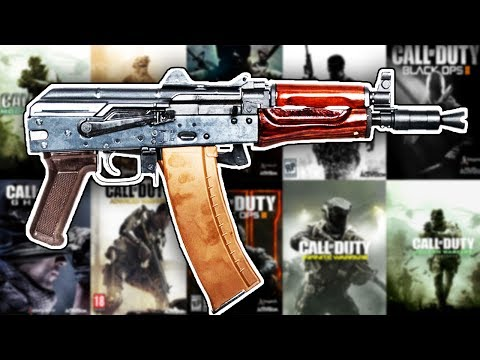 The Evolution of The AK74U in Every Call of Duty