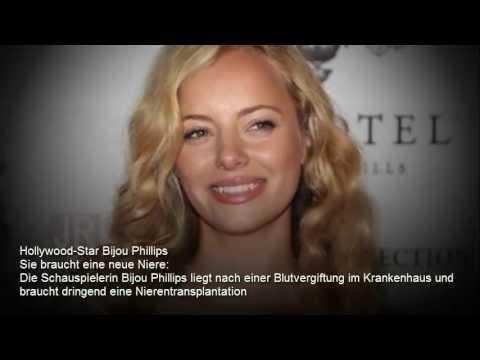 OMG!! Hollywood-Star Bijou Phillips Sie braucht eine neue Niere