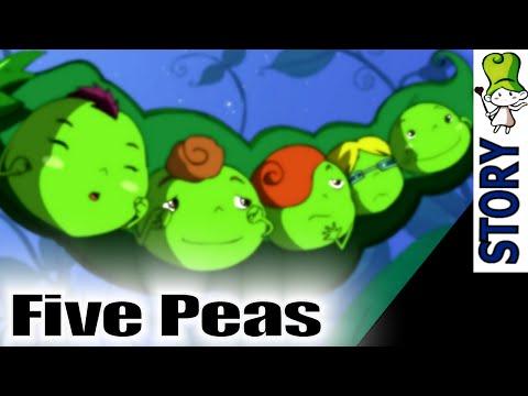Five Peas - Bedtime Story Animation | Best Children Classics HD