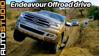 Ford Endeavour 2019 | Endeavour Offroad drive || AUTOSTUDIO ||
