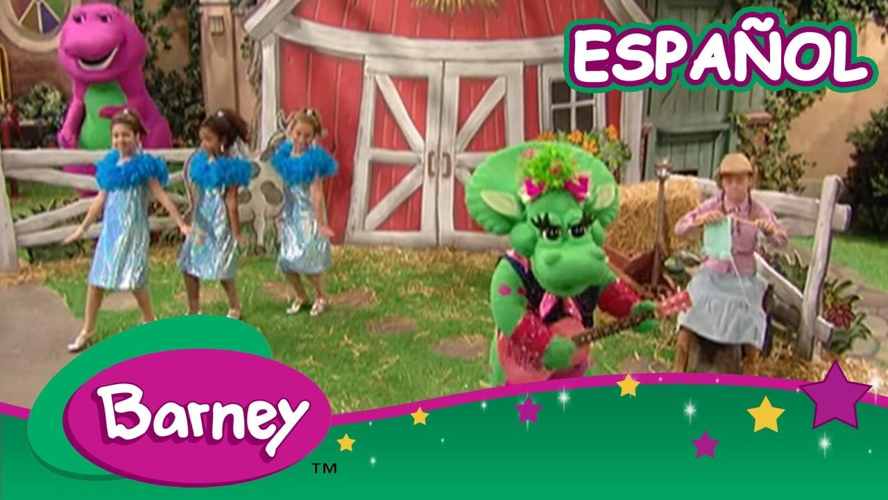 juegos de barney en espanol: