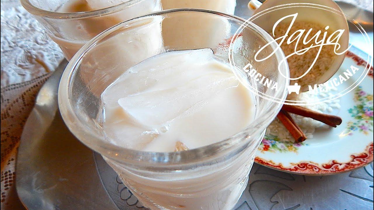 Agua de Horchata Mexicana Receta Agua de Horchata Mexicana