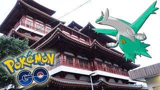 ¡A por LATIOS SHINY en CHINATOWN de SINGAPUR en Pokémon GO! [Keibron]