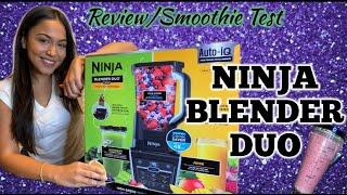 Ninja duo blender/juicer | Ninja product view/ Test