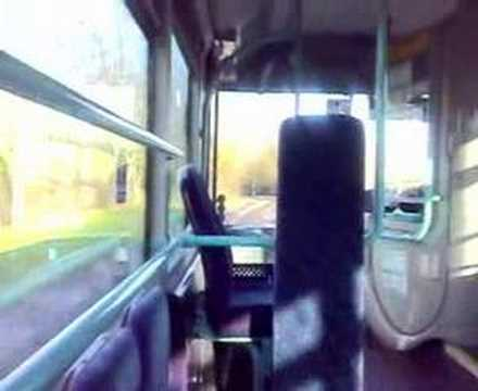 Footage of First Wyvern Dennis Enviro 300 67643 From Alexandra Hospital to Winyates on route 57.
