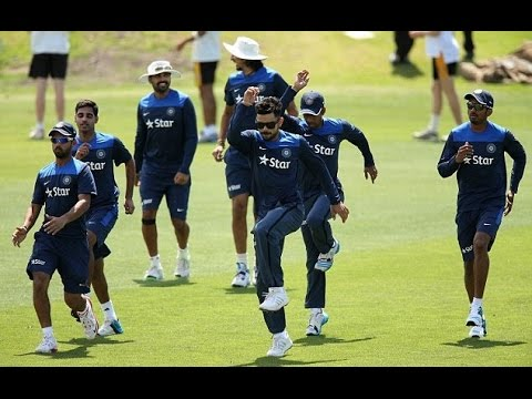Team India starts preparation of South Africa series at Bangalore