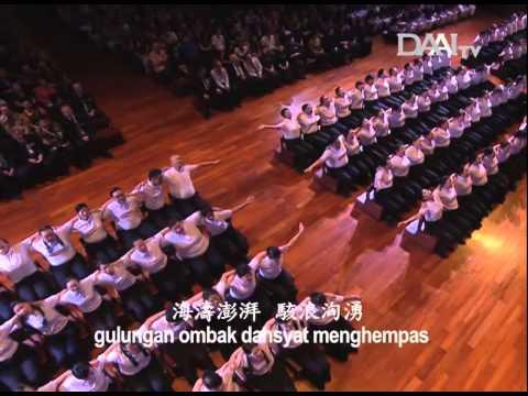 DAAI Night 2014 Addie ms, Twilite Orchestra, Twilite Chorus & Relawan Tzu Chi  (Jalankan Ikrar)