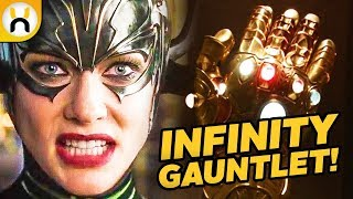 Thor Ragnarok Reveals the Truth Behind Odin's Infinity Gauntlet