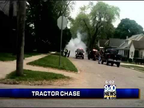 Man Leads Police on Cheboygan Tractor Chase   Northern Michigans News Leader
