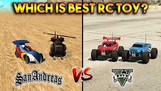 GTA 5 RC BANDITO VS GTA SAN ANDREAS RC BANDIT : WHICH IS BEST RC TOY?