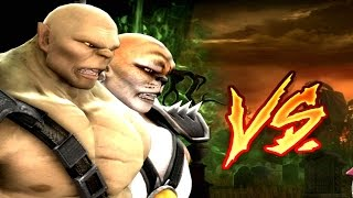 Mortal Kombat Komplete Edition - Goro & Kintaro Tag Ladder 60FPS Gameplay Playthrough