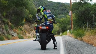 Street Riding Mulholland Canyon on XSR900!
