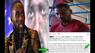 BREAKING NEWS: TERENCE CRAWFORD CALLED OUT BY KELL BROOK, I'M NOT RETIRING, I WANT CRAWFORD !