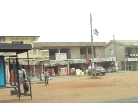 Eli & Peter's Crazy Sakumono-Nungua Taxi Ride - Accra, Ghana