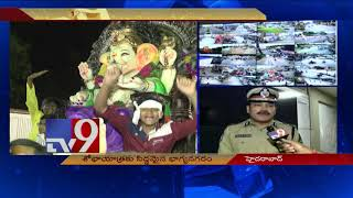 CP Anjani Kumar on Ganesh idol immersion arrangements in Hyderabad