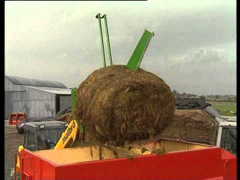 McHale 994 Round Bale Spliter English