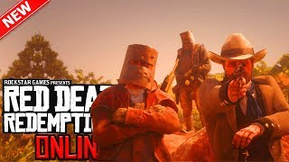 Red Dead Online: NEW Update Next Week! Passive Mode, Private Lobbies, Gold Bar Bonus & More!? (RDR2)