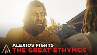 Alexios Fights The Great Euthymos in Front of His Students - Assassin's Creed Odyssey