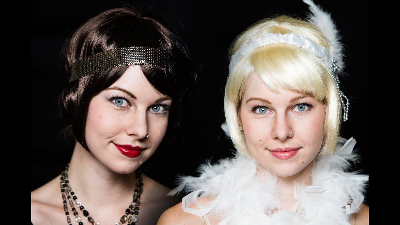 ... & Jordan Baker - Great Gatsby Inspired Makeup Tutorial - YouTube
