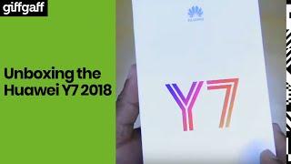Huawei Y7 2018 | Phone Unboxing | giffgaff