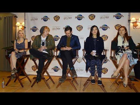 Harry Potter film talent media Q&A from A Celebration of Harry Potter Jan 29, 2016