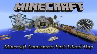 Minecraft Contest Island Amusement Park Map (Download) Olann-island