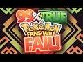 99% of TRUE Pokemon Fans Will FAIL This Pokemon Quiz!