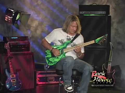 John McCarthy from his Rock House Instructional DVD LEAD GUITAR