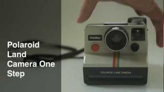 Polaroid Camera Land Camera One Step