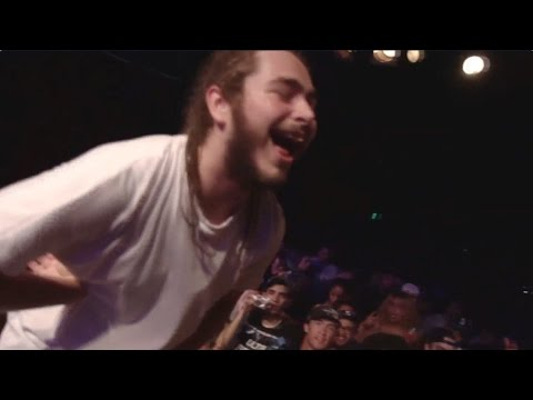 Post Malone 'White Iverson' Live @ Neumos | Shot by @omgimwigs