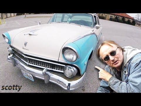 1955 Ford Fairlane Restoration - Pre-Mustang Era