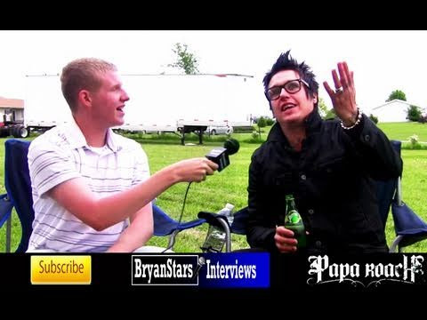 Papa Roach Interview #2 Jacoby Shaddix 2010