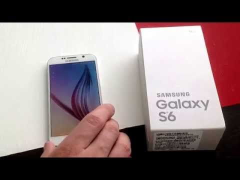 Samsung Galaxy S6 - how to check the IMEI / ESN
