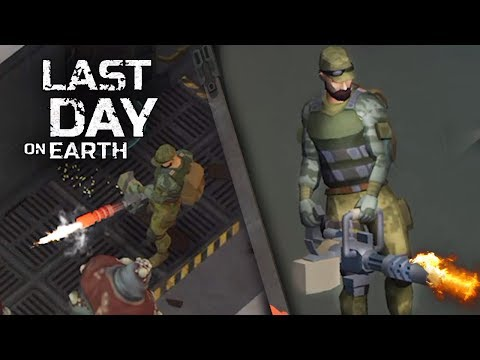 ЗАЧИСТКА БУНКЕРА С ПОМОЩЬЮ МИНИГАНА - Last Day on Earth: Survival