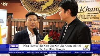 PHÓNG SỰ CỘNG ĐỒNG: Nhạc sĩ Việt Khang gặp gỡ & cảm ơn đồng hương tại Georgia