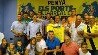 Nace la peña 'Els Ports - Villarreal CF Javi Prats'