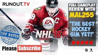NHL 16 Review (XBox One) Full Match with Gameplay Review